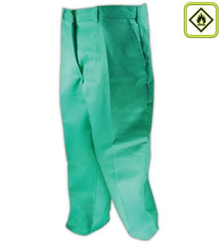 (Magid Glove & Safety 1531-48X30 Magid A.R.C. 1531 Green Standard Weight Line Pants, 50 Unhemmed, Green, 48x30)
