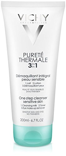 - Vichy Pureté Thermale One Step Cleanser for Sensitive Skin, 6.7 Fl. Oz.