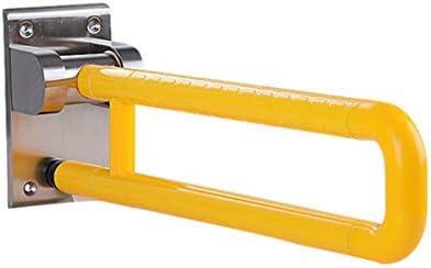 安全用手すりトイレ用手すり障害者用トイレのパワーアームレスト障害者用トイレのバックハンドル(黄色)