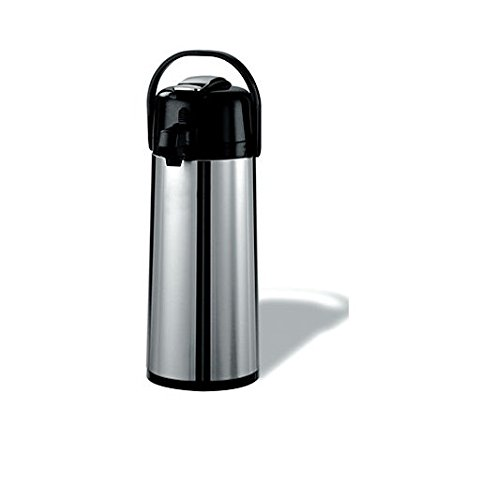 (Daily Chef Stainless Steel 2.2 L Airpot w/Lever)