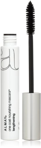One Coat Nourishing Lengthening Mascara - Almay One Coat Nourishing Mascara, Lengthening, Black 441, 0.27-Ounce Package