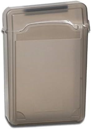 耐震性3.5インチIDE / SATA HDDストレージ保護ボックスエンクロージャケースカバー - グレー