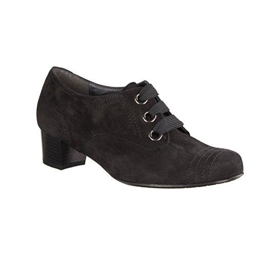 Cleo Semler C4210-001 - Scarpe da donna le scarpe comodamente/inserto, nero, (pelle) nubukina, tacco altezza: 40 mm