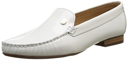 Jb Martin Tiphaine 12720, Mocasines para Mujer Blanc (Veau Vernis Verniz Seda White)