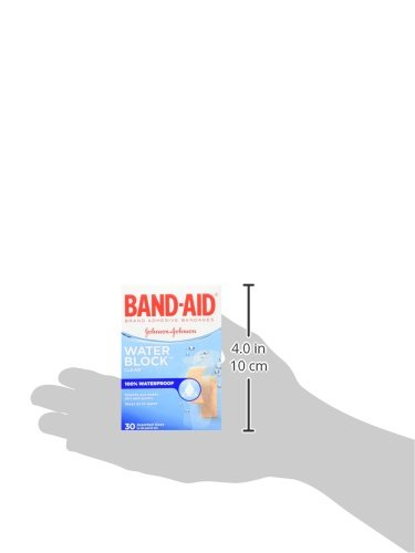 Band-Aid Brand Water Block Plus Waterproof Clear Adhesive Bandages for Minor Cuts and Scrapes, 30 ct (6 Pack) by Band-Aid (Image #15)