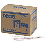 Dixie(R) Stir Sticks, White/Red, Box Of 1,000