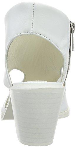 Marta Jonsson 6041 - Sandalias de cuero mujer blanco - White (White L)