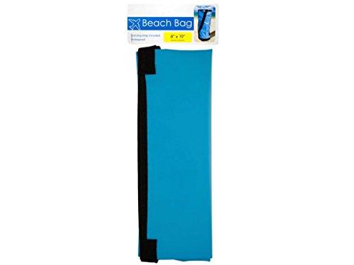 bulk buys OS323 Waterproof Beach Bag, Black, Blue