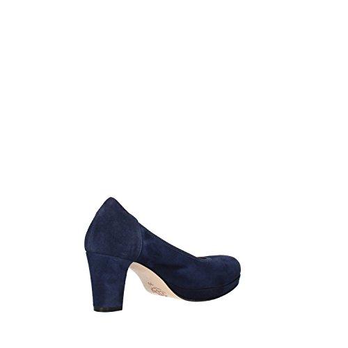 Calpierre - Zapatos de vestir de ante para mujer azul turquesa