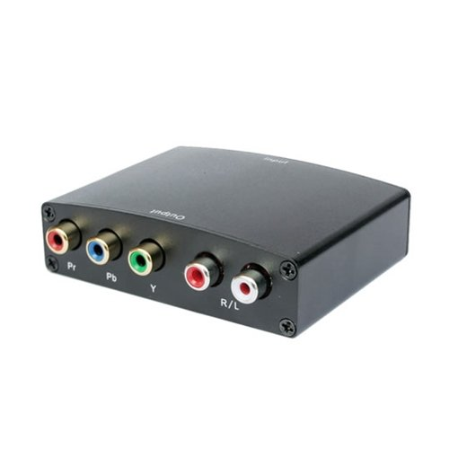 HYFAI HDMI to Component Video (YPbPr)+R/L Audio Converter (CANADA SELLER) YCH01 (331)