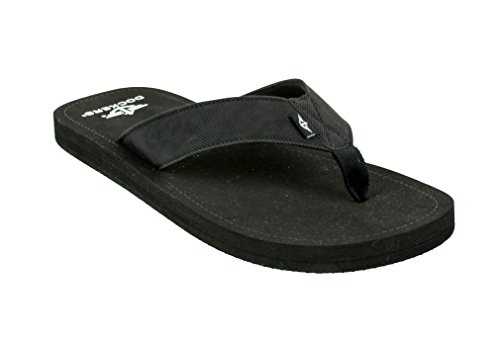 Dockers Men's Kenneth Casual Flip- Flop Sandal with Premium Arch Support, Size Large/ 11-12D(M) US ()