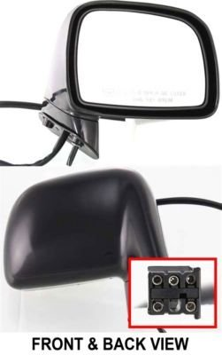 Kool Vue FD43ER Lincoln Town Car Passenger Side Power Heated Mirror