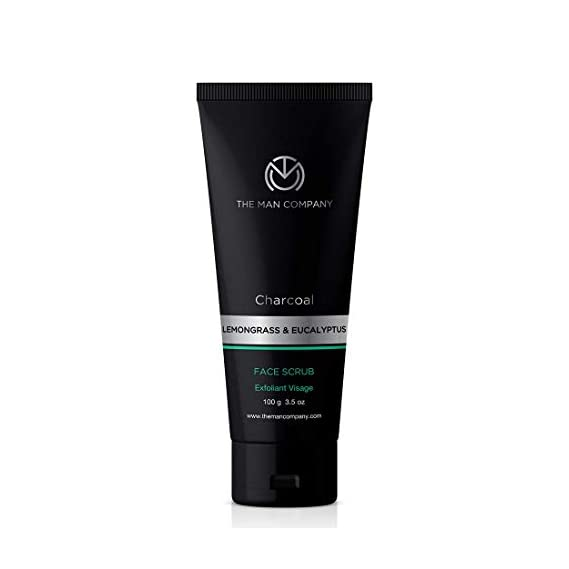 The Man Company Fresh face forward (Charcoal face sheet mask (25 ml) and Moisturising cream (50 gm), Face wash (100 ml) and Face scrub (100 ml) | Made in India