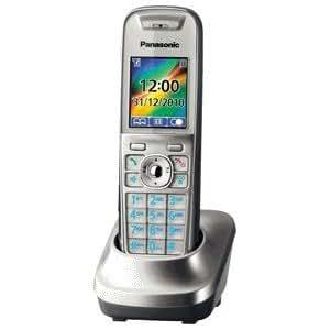 Panasonic KX-TGA850 - Teléfono (DECT, Plata, LCD, AAA, Digital, 1238 x 160 Pixeles)