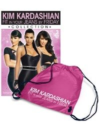 bb6c5bcaa62a4 Kim Kardashian ~ Fit In Your Jeans By Friday Collection 3 DVDS + ...