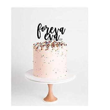 Foreva Eva Wedding Cake Topper L Wedding Cake Topper L