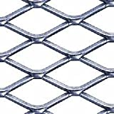3/4'' #9 304 Stainless Steel Expanded Sheet/Mesh, 24'' x 24'' x .100''