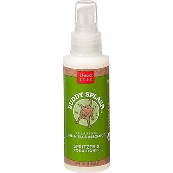 Cloud Star Buddy Splash Green Tea and Bergamot Dog Spritzer, My Pet Supplies