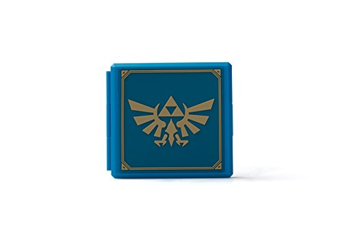 PowerA Premium Game Card Case - Zelda Hylian Crest - Nintendo Switch