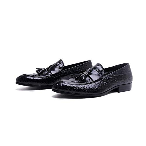 Loafers Black Trendy Traspirante Style Casual Spring British NIUMT Business Comfortable 5wHqzf