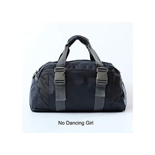 Fortune-god Sports Gym Bag,Sports Nylon Training Shoulder Traveling Duffel,Deep Blue M (Shoulder Tote Elite Infinity)