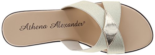 Athena Alexander Benadet Pelle sintetica Sandalo