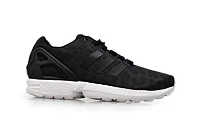 cheap for discount 0e29f de16b Image Unavailable. Image not available for. Colour  Womens Adidas ZX Flux W  - S42057 - Black White Trainers UK ...