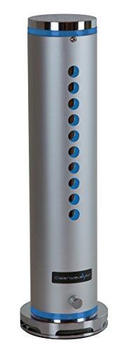ClearWave Air UV-C Light Air Purification System Kills 99.9% of Airborne Germs and Microbes Including Bacteria, Virus, Mold and Fungal Spores Which Can Trigger Asthma and Allergies