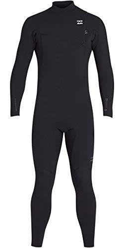 Billabong Mens 3/2mm Pro Series Chest Zip Wetsuits Black N43M01 Wetsuit Size - M