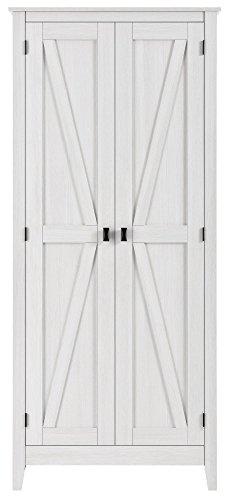 SystemBuild 7532296COM Storage Cabinet, Sandy (Pine Shelf Kit)