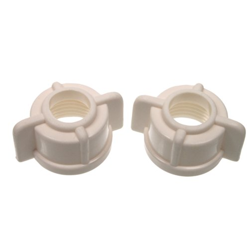 Danco Nuts - Danco 88410 Faucet Tailpiece Nuts, 1/2-Inch, 2-Pack
