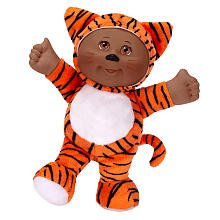[Cabbage Patch Kids Cuties Ethnic Plush Doll - Tiger] (Cabbage Head Costume)