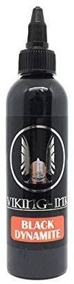 Tattoo Ink Black Dynamite 1oz (30ml.) Viking Ink USA Vegan Pigment (The Best Tattoo Ink)