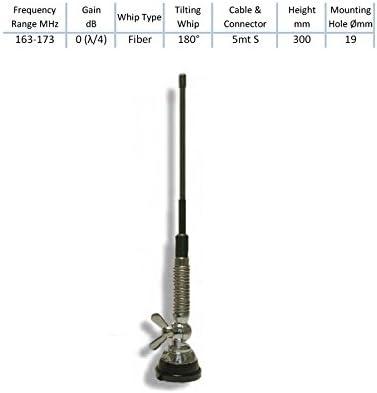 Sirio t-vhf ambulanze Antena veicolare VHF 163 – 173 MHz ...
