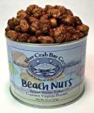 Blue Crab Bay ''Beach Nuts'' Spiced Butter Toffee Gourmet Virginia Peanuts (Pack of 4 )