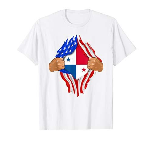 (Panamanian Blood Inside Me T-Shirt | Panama Flag Gift)