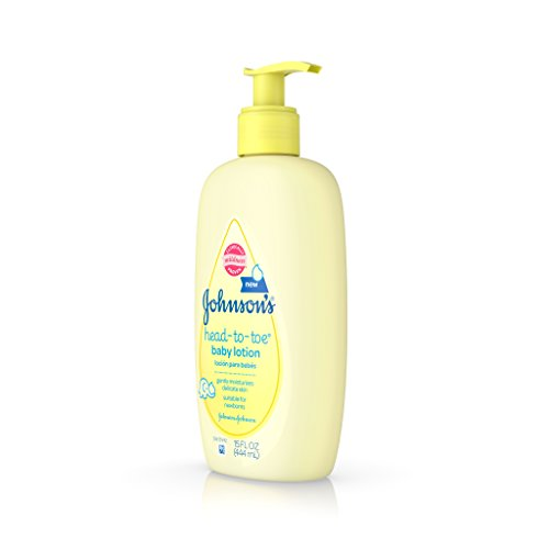 Johnson's Head-To-Toe Baby Lotion, 15 Fluid Ounces (Pack of 3)