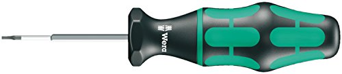 Wera 05027910001 Kraftform 300 Hex Torque-Indicator Hexagon Screwdriver, 2mm Head, 65mm Blade Length