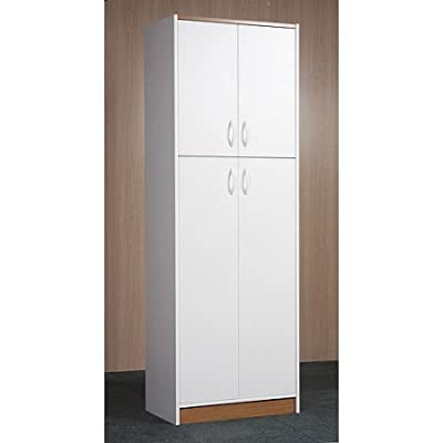 Orion 4-Door Kitchen Pantry, White