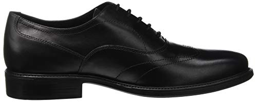 Uomo Zapatos Para Carnaby Oxford Cordones C9999 De Geox Hombre black Negro A Uq6xdwgdnf