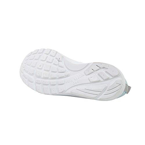 Moderna Rush Funk Para Mujer Con Cordones Zapatillas Deportivas Con Malla De Punto Superior Transpirable Aqua / Gris