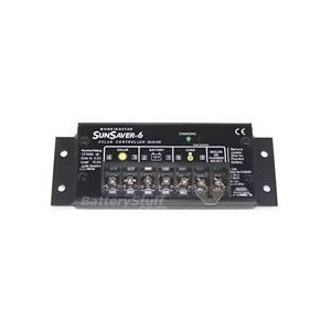 SunSaver 6 Charge Controller 12V 6A by Morningstar