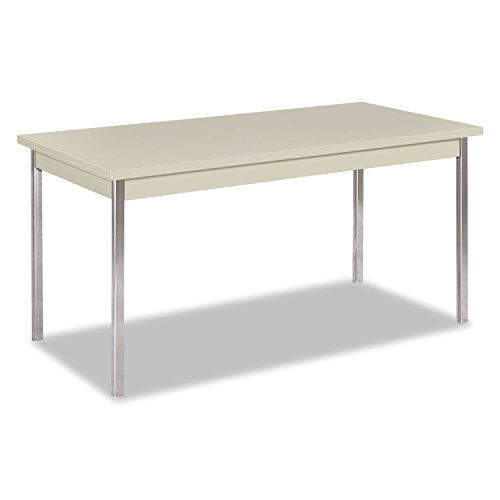 HON UTM3060QQCHR 60 by 30 by 29-Inch Non-Folding Rectangular Utility Table, Light Gray
