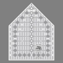 Creative Grids Ruler House 9.5 x 12 Inches