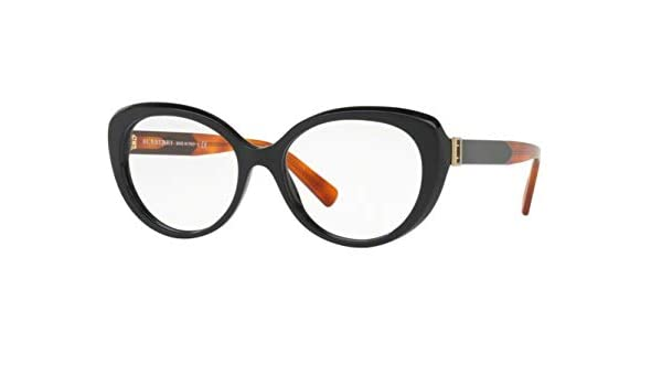 4239117b768 Eyeglasses Burberry BE 2251 F 3637 BLACK  Amazon.ca  Clothing   Accessories