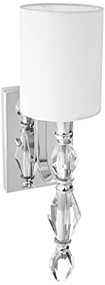 Designers Fountain 89901-CH Evi 1 Light Wall Sconce/Bath
