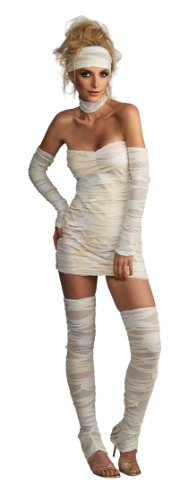 Sexy Mummy Adult Costumes (Rubie's Costume Women's Adult Mummy Costume, Whites, Standard)