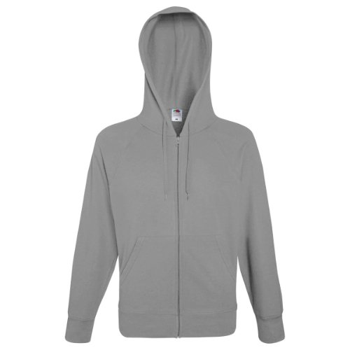 Loom Hooded the sudadera Gris Hombre of Fruit pv1xwqap