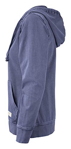 Buck Denim Ladies denim amp; Größe Hoody Cutter Blue l Full Farbe Zip Thorp 1q5wax6A