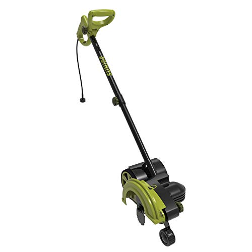 Sun Joe SJEDGE7 12-Amp Electric Wheeled Landscape 2-in-1 Edger + Trencher (Renewed)